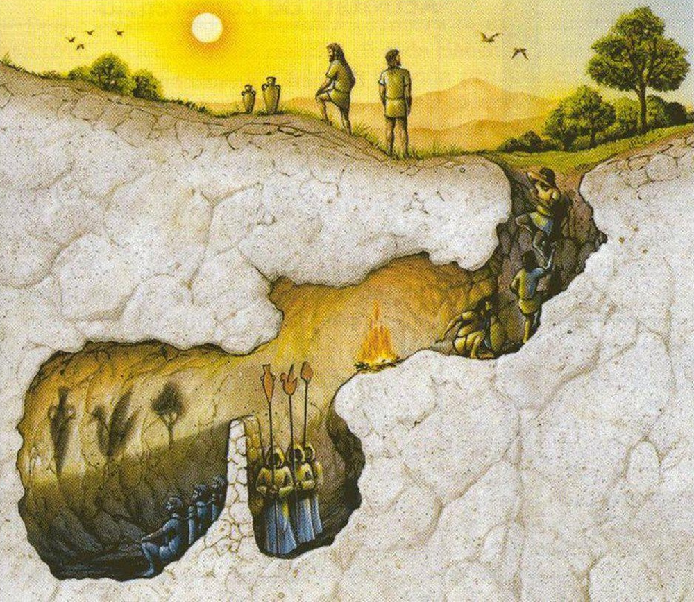 φιλοσοφια, σπηλια, Πλατωνας